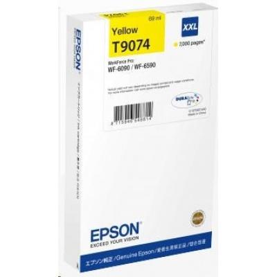 EPSON Ink bar WorkForce-WF-6xxx Ink Cartridge Yellow XXL 69 ml