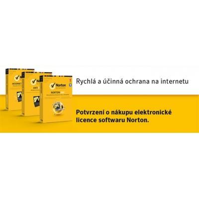 SPECIAL - NORTON SECURITY DELUXE 3.0 CZ  1 UŽIVATEL 3 ZAŘÍZENÍ 12 MĚSÍCŮ  - ELEKTRONICKY KLIC (ESD)