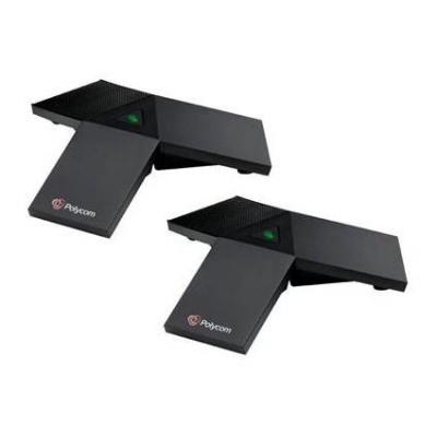 Polycom sada externích mikrofonů pro Trio 8500 / 8800 (2x modul, tlačítko mute s LED indikací, 2,1 m kabel)